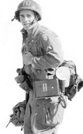 Caruso as Army Journalist