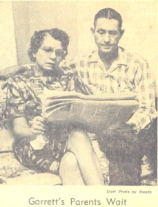 Parents of James Garrett Waiting