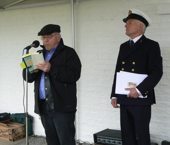 O'Caruso reads Flight Over Galley Head from Born Again Irish.